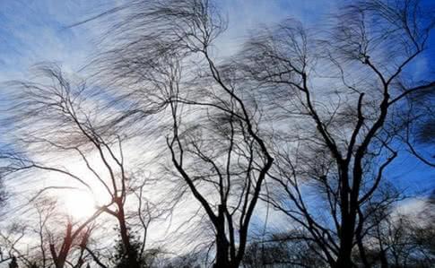 Увага! 28 лютого – сильні пориви вітру