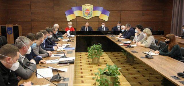 Проведено засідання регіональної комісії з питань ТЕБ і НС