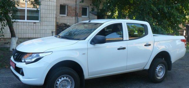У КУ «Рятувально-водолазна служба» Полтавської обласної ради з'явився новий автомобіль