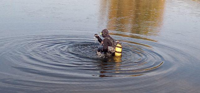 Водолази КУ «Рятувально-водолазна служба»  Полтавської обласної ради провели тренування