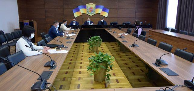 Проведено засідання регіональної комісії з питань ТЕБ і НС Полтавської області