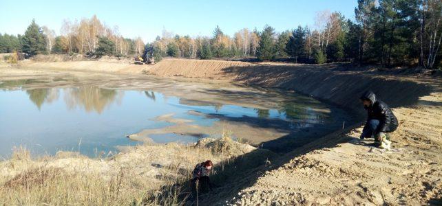 Влаштування протипожежної водойми у Новосанжарському лісництві
