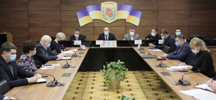 В облдержадміністрації провели нараду з питання дотримання заходів протипожежної безпеки на об'єктах підвищеного ризику