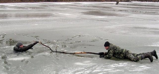 Навесні лід на водоймах стає особливо небезпечним