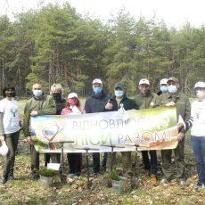 Фахівці Департаменту долучилися до примноження лісів Полтавщини