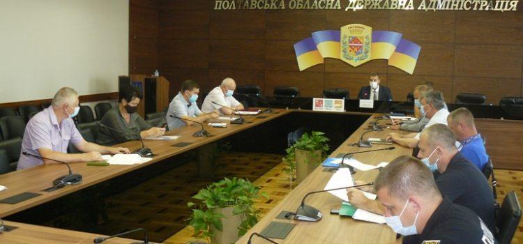 На спільному засіданні регіональної та місцевої комісій з питань ТЕБ і НС визначали порядок дій під час навчальної надзвичайної ситуації природного характеру, пов'язаної із затопленням