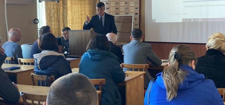 З керівниками та фахівцями територіальних громад Полтавського району провели заняття з цивільного захисту